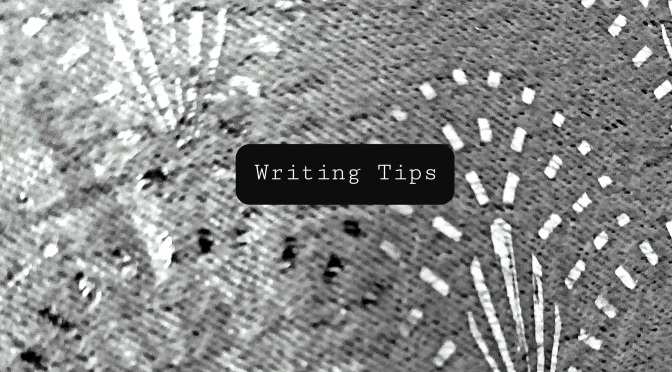 The Perfectionist Writer – Writing Tips