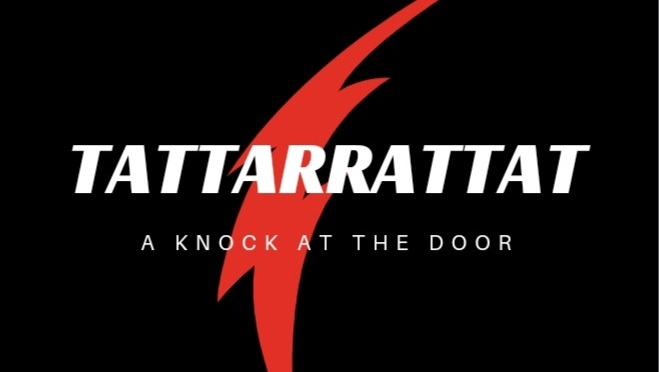 I Can Hear Your Tattarrattat At The Door! 🙂💙
